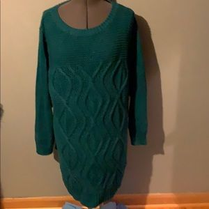 Lands End tunic sweater